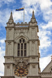 Western facade, Westminster Abbey. London Royalty Free Stock Photos