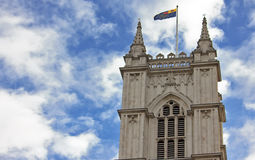 Western facade, Westminster Abbey. London Stock Images