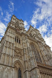 Western facade, Westminster Abbey. London Stock Photo
