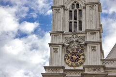 Western facade, Westminster Abbey, London Royalty Free Stock Photos