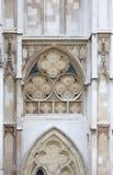 Western facade, Westminster Abbey, London Stock Photos