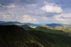 Western Fells Royalty Free Stock Photos