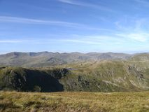 Western fells skyline, Lake District Stock Image