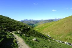 The western fells Royalty Free Stock Photography