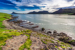 Western Fjords and Arctic sea, Iceland Royalty Free Stock Photography