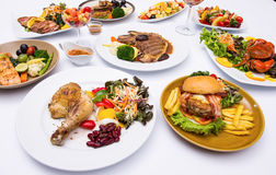 Western food style Stock Images