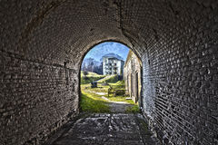 Western Fort in Swinoujscie, Poland. Royalty Free Stock Photos