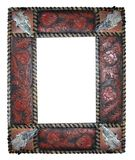 Western Frame. A detailed empty western looking picture frame Stock Photography