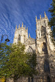 Western Front of York Minster, North Yorkshire, UK Royalty Free Stock Image