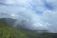 Western Ghats. Of INDIA, its heavenly view in Monsoon royalty free stock photo