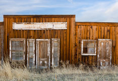 Western Ghost Town Stock Images