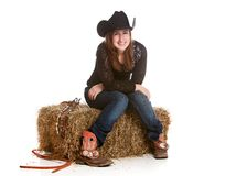 Western Girl Stock Images
