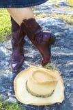 Western Girl Stock Photo