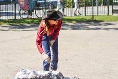 Western girls Stock Photography
