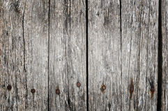 Western grunge wood background. With nails Royalty Free Stock Photo