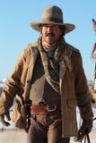 Western Gunslinger Stock Photography