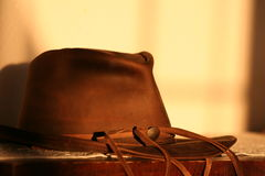 Western Hat. In magic light Royalty Free Stock Photography