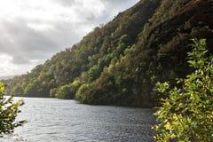 Scottish Highlands landscape, Loch Awe Royalty Free Stock Photography