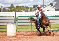 Barrel Racer Stock Images