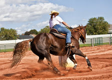 Barrel Racer Royalty Free Stock Image