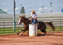 Barrel Racer Royalty Free Stock Photos