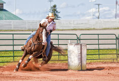Barrel Racer Royalty Free Stock Images