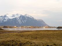 Western iceland country. A remote town in western iceland Stock Images