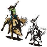 Western illustration series Stock Photo