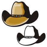 Western illustration series. Vector illustration of a cowboy hat. EPS file available royalty free illustration