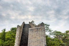 western Jinshanling Great Wall Stock Images