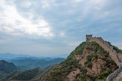 western Jinshanling Great Wall Royalty Free Stock Photos