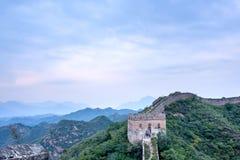 western Jinshanling Great Wall Royalty Free Stock Image