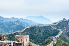 western Jinshanling Great Wall Stock Photos