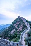 western Jinshanling Great Wall Stock Image