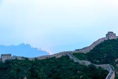 western Jinshanling Great Wall Royalty Free Stock Images