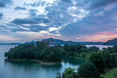The western lake of Lushan Royalty Free Stock Photography