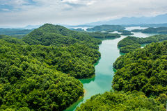 The western lake of Lushan Stock Photography