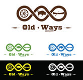 Western Logo. Old west concept logo symbol illustration Stock Photography