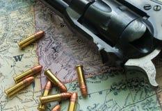 Western Map II Stock Photo