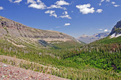 Western mountain valley in summer Royalty Free Stock Image