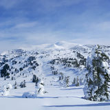 Western mountains. Stock Photography