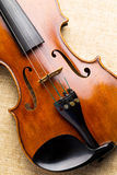 Western musical instrument, violin Stock Photography