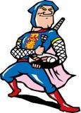 Western ninja Royalty Free Stock Image