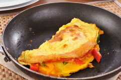 Western omelet Stock Photos