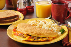 Western omelet Stock Images