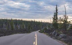 Western Oregon Highway Stock Photos