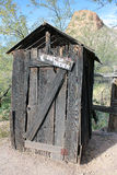 Western Outhouse Stock Images