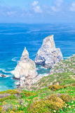 The western point of Europe. Cabo da roca, the western point of Europe royalty free stock image