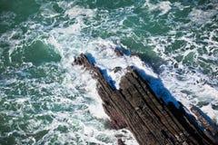 Western Portugal Ocean Coastline Stock Photography