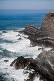 Western Portugal Ocean Coastline Royalty Free Stock Photography